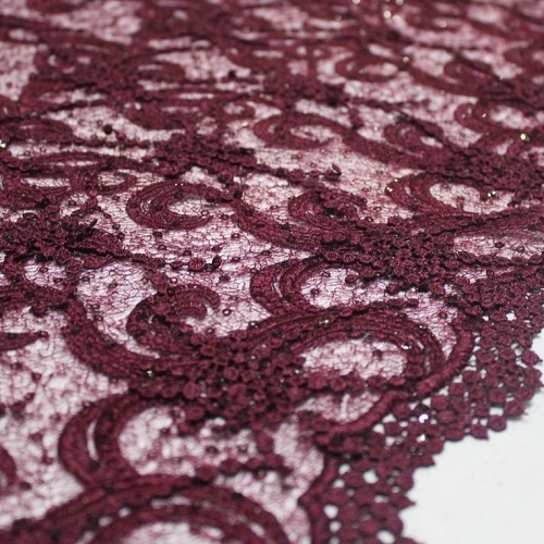 Lace with paillete (1)