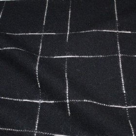 Coating patterned (synthetic velour)