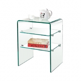 GLASSER Bedside table